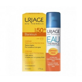 Uriage Bariesun Crème SPF50+ 50ml + Eau Thermale 50 ml Offerte