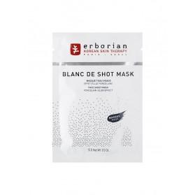 Erborian Blanc de Shot Mask Masque Tissu Visage 15 g