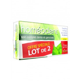Boiron Homéodent Soin Complet Dents et Gencives Lot de 2 x 75 ml