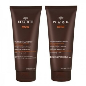 NUXE Men - Gel douche multi-usages - Lot de 2 x 200 ml