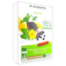 Arkopharma Arkofluides Détox 20 Ampoules