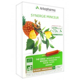 Arkopharma Arkofluides Synergie Minceur 20 Ampoules