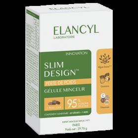 ELANCYL - SLIM DESIGN - Gélules Minceur, 60 gélules