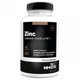 NHCO - Zinc Amino-Chélaté, 84 gélules végétales