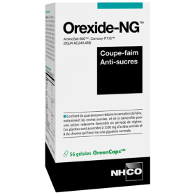 NHCO OREXIDE-NG Gél coup-faim anti-suc Pilul/56