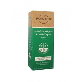 Parakito Anti-Moustiques & Anti-Tiques Spray Protection Forte 75 ml