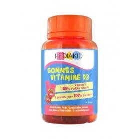 Pediakid Gommes Vitamine D3 60 Gommes