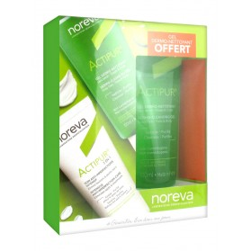 Noreva Actipur 3 en 1 Soin Anti-Imperfections Intensif 30 ml + Actipur Gel Dermo-Nettoyant 100 ml Offert