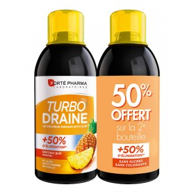 FORTE PHARMA TurboDraine Minceur Lot de 2 x 500 ml
