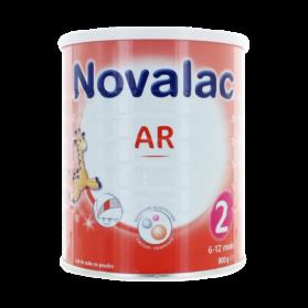 NOVALAC - Lait en Poudre AR 2, 800g