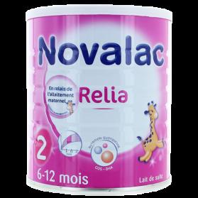 NOVALAC RELIA 2AGE LAIT NOUVEAU PDR 800G