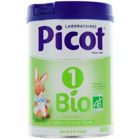 Picot 1 lait 1er âge Bio 800 g