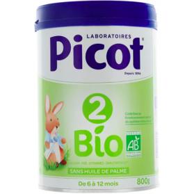 PICOT BIO 2 Lait pdr B/800g