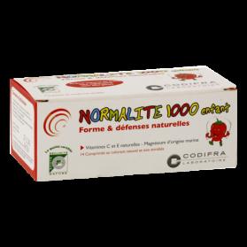 NORMALITE 1000 ENFANT BOITE DE 14 COMPRIMES