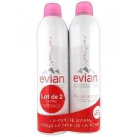 Evian Brumisateur Visage Lot de 2 x 300 ml