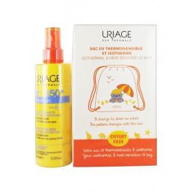 Uriage Bariésun Enfants Spray SPF 50+ 200 ml + Sac UV Thermosensible et Isotherme Offert