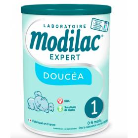 MODILAC EXPERT DOUCEA 1 LAIT EN POUDRE 0-6 MOIS 800G