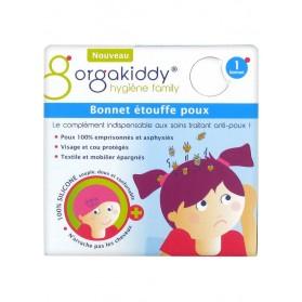 Orgakiddy Bonnet Étouffe Poux 1 Bonnet - Couleur : Rose