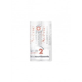 COLD CREAM AVENE Stick lèv nourriss 2x4g