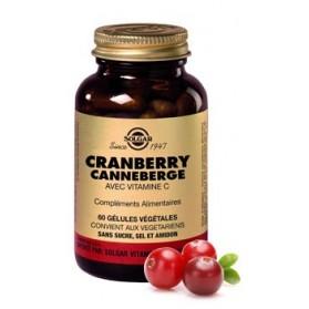 Solgar Cranberry -Canneberge- 60 gélules Végétales