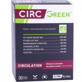 ARAGAN SYNACTIFS CIRC GREEN 30 GELULES