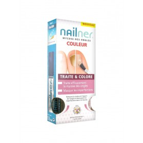 Nailner Mycose des Ongles Traite & Colore 2 Vernis