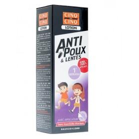 Cinq sur Cinq lotion poux + lentes 100 ml