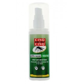 Cinq sur Cinq spray Nature anti moustiques au citriodiol 100 ml