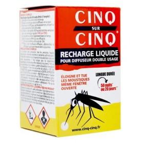 Cinq sur Cinq recharge liquide pour diffuseur 35 ml