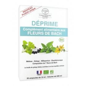 Elixirs & Co Complément Alimentaire aux Fleurs de Bach Déprime Bio 20 Ampoules