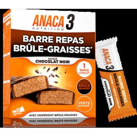 ANACA3 LA BARRE REPAS BRULE GRAISSES boite de 6 barres repas