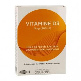 EA granions vitamine D3 60 capsules