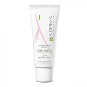 A-Derma hydralba crème hydratante UV légère 40ml