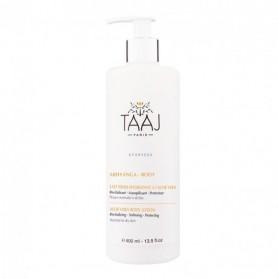 Taaj Abhyanga Lait Frais Hydratant à l'Aloe Vera 400 ml