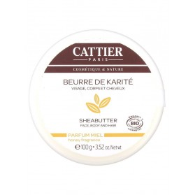 Cattier Beurre de Karité Parfum Miel 100 g