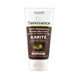 Natessance Après-Shampooing Baume Ultra-Riche Karité et Kératine Végétale 150ml