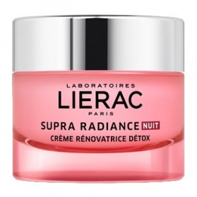 Lierac supra radiance crème rénovatrice détox-nuit 50ml