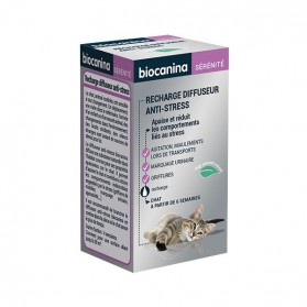 Biocanina recharge diffuseur anti-stress chat 45ml
