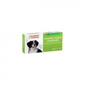 Clement Thekan strantel chien vermifuges 2 comprimés