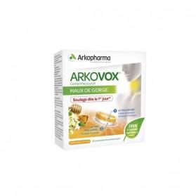 Arkopharma arkovox® arôme miel citron 20 comprimés bicouches à sucer