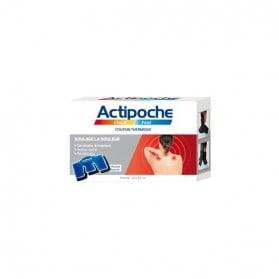 Actipoche coussin thermique cervicales et trapèzes format 24x40cm