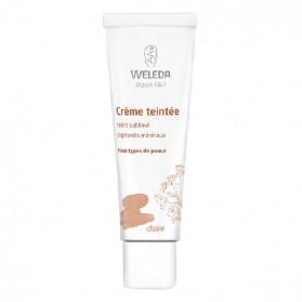 Weleda crème teintée claire tube 30ml