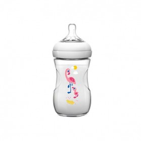 Avent biberon natural flamant 260ml