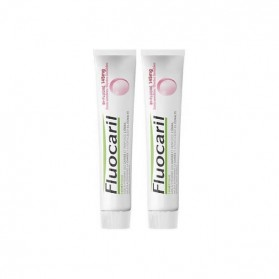 Fluocaril bi-fluoré 145mg dentifrice dents sensibles 75mlx2