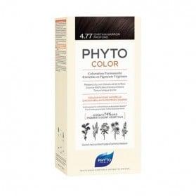 Phyto color coloration permanente 4.77 châtain marron profond 112ml
