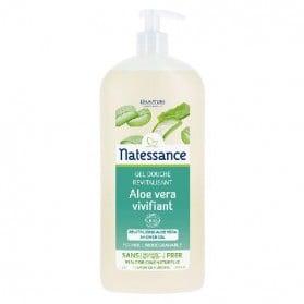 Natessance gel douche aloe vera sans sulfates 1L