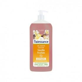 Natessance douche vanille fruitée sans sulfates 1L