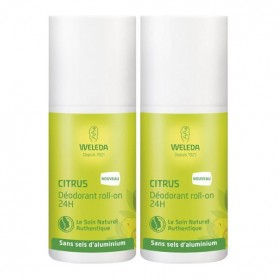 Weleda citrus déodorant roll-on 24h duo 50ml