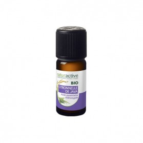 Naturactive citronnelle de java huile essentielle bio flacon 10ml
