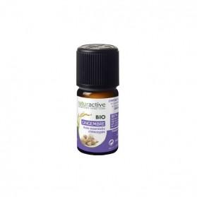 Naturactive gingembre huile essentielle bio flacon 5ml